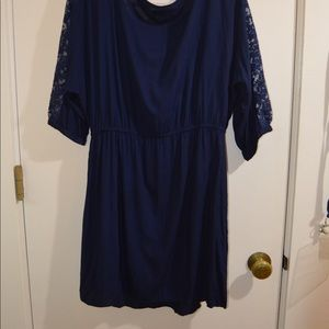 American Eagle Outfitters Dresses - AMERICAN EAGLE Navy Dress
